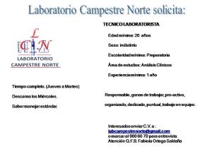 Tecnico Laboratorista (2)